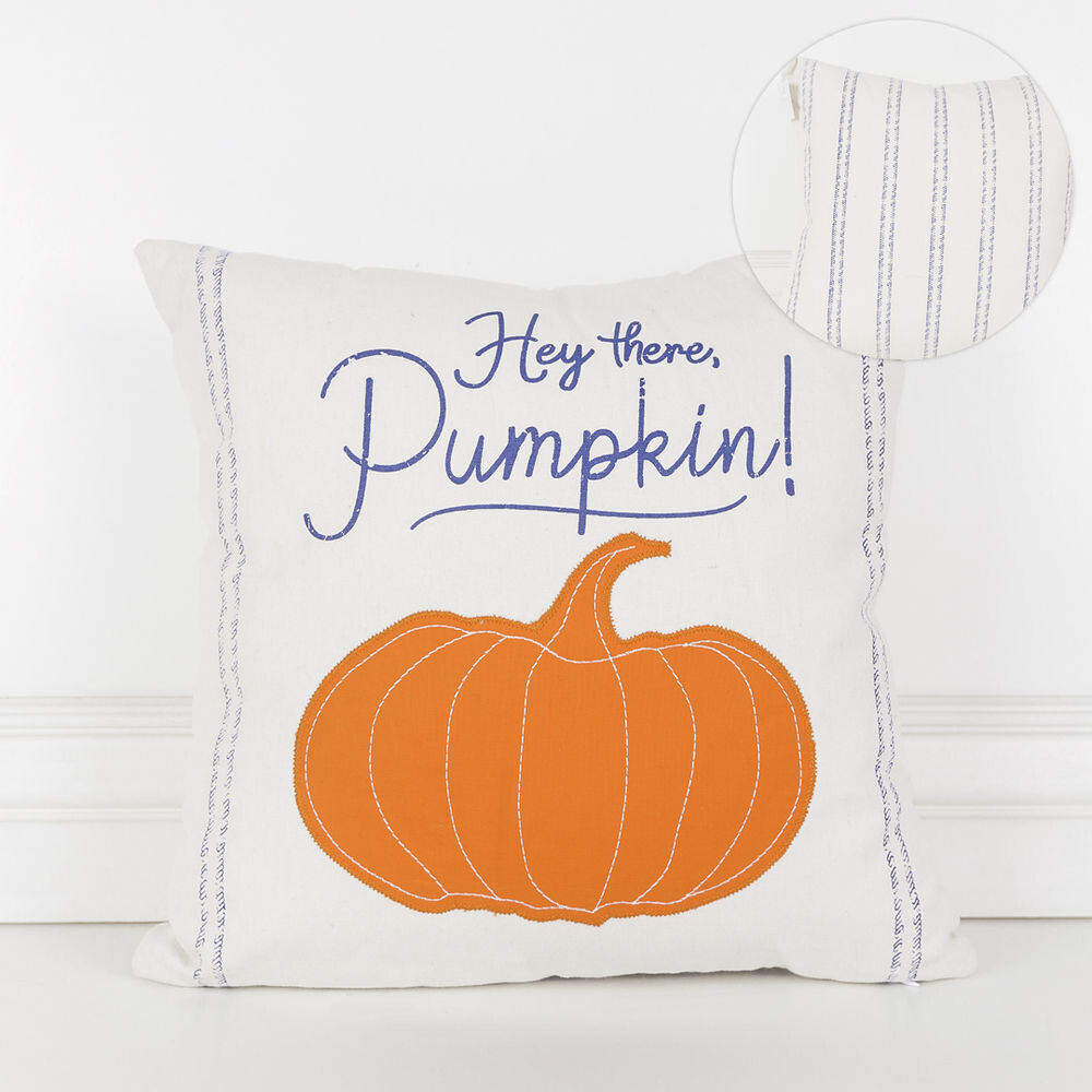 Hey There Pumpkin Pillow