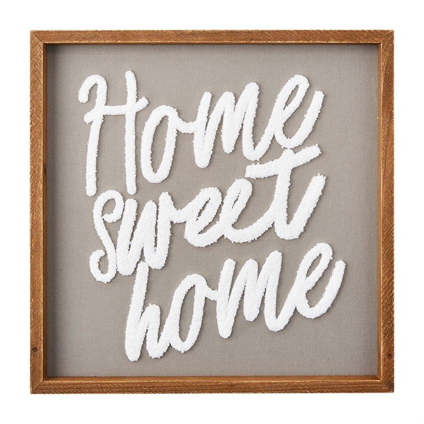 Home Sweet Home Boucle Sign