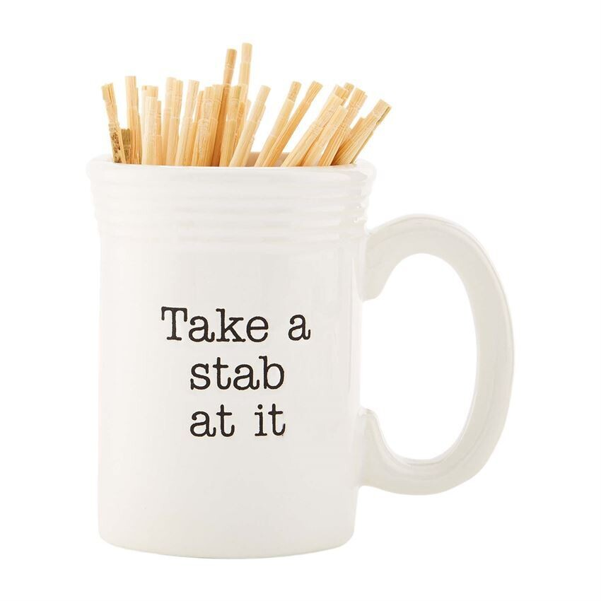 Take A Stab At It - Toothpick Holder