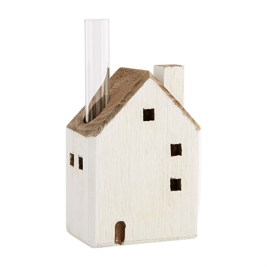 Lg House Bud Vase