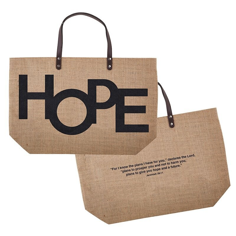 Hope Jute Tote