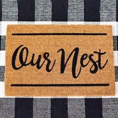 Our Nest Door Mat