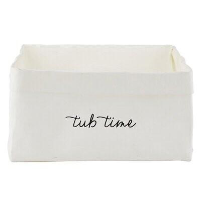 Tub Time Basket