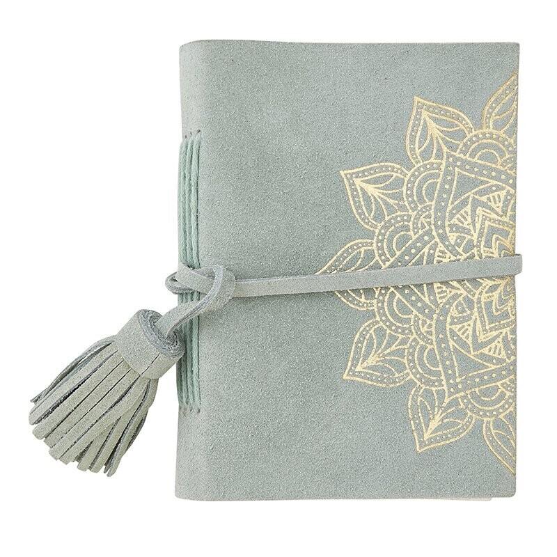 Suede Mandala Journal