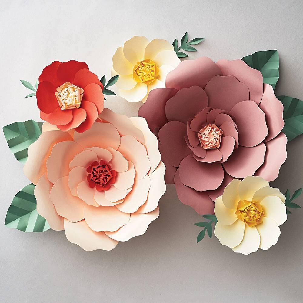 Big Bloom Paper Flowers