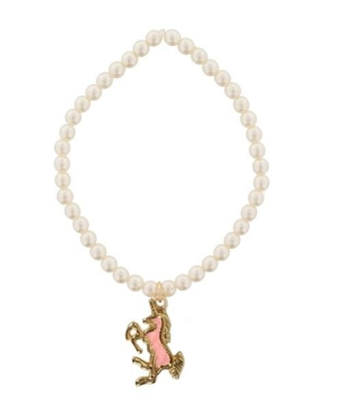 Kids Pearl Unicorn Bracelet