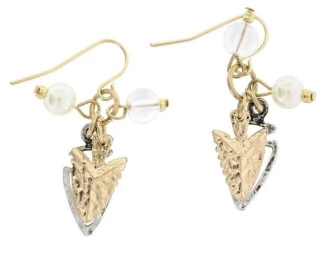 Arrowhead Cluster Earrings