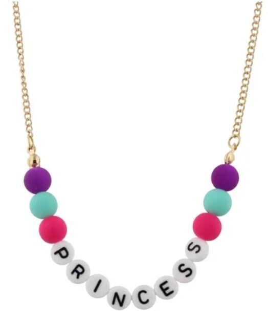 Kids Princess Beaded Necklace