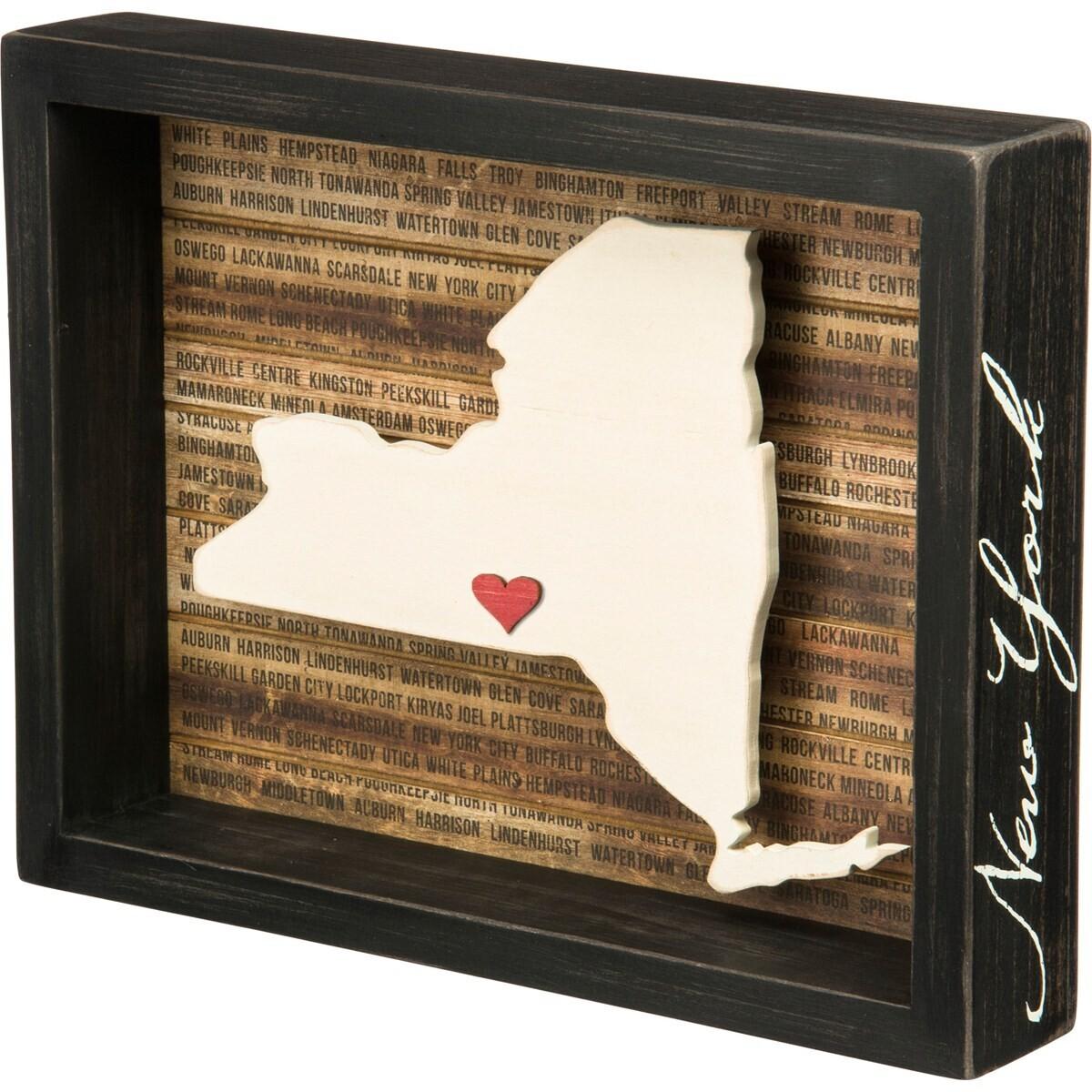 New York Box Sign