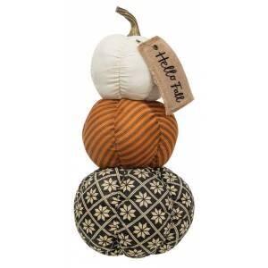 Hello Fall Pumpkin Stack