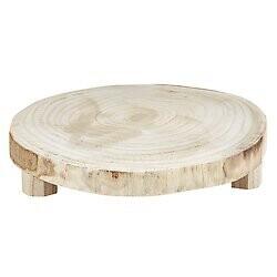 Med Natural Wood Round Riser