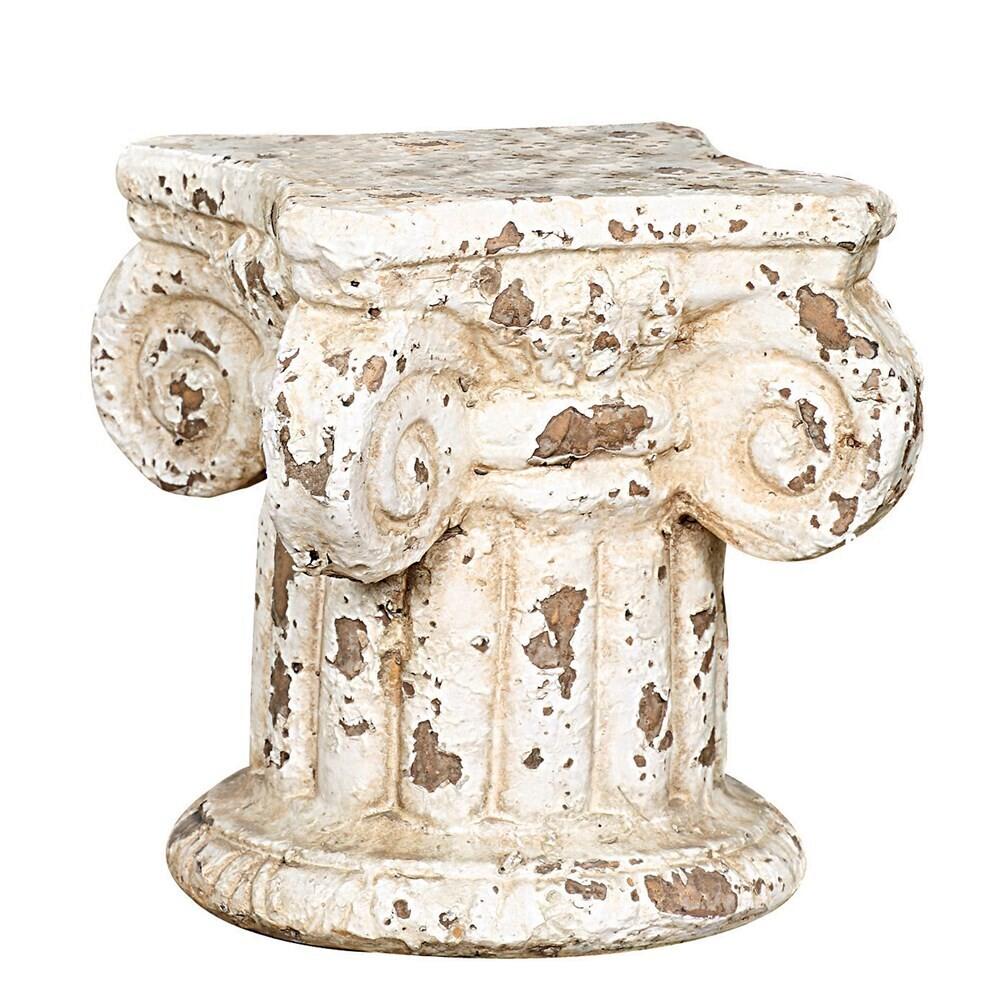 Distressed Column Pedestal
