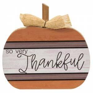 So Very Thankful Chunky Pumpkin