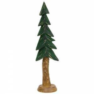 Med Resin Carved Alpine Tree