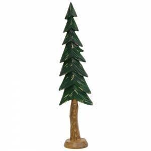 Lg Resin Carved Alpine Tree