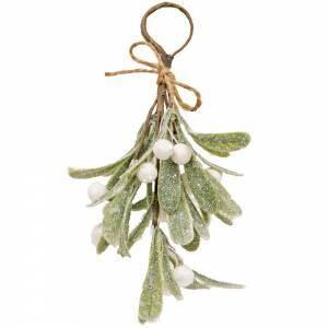Glittered Mistletoe Ornament