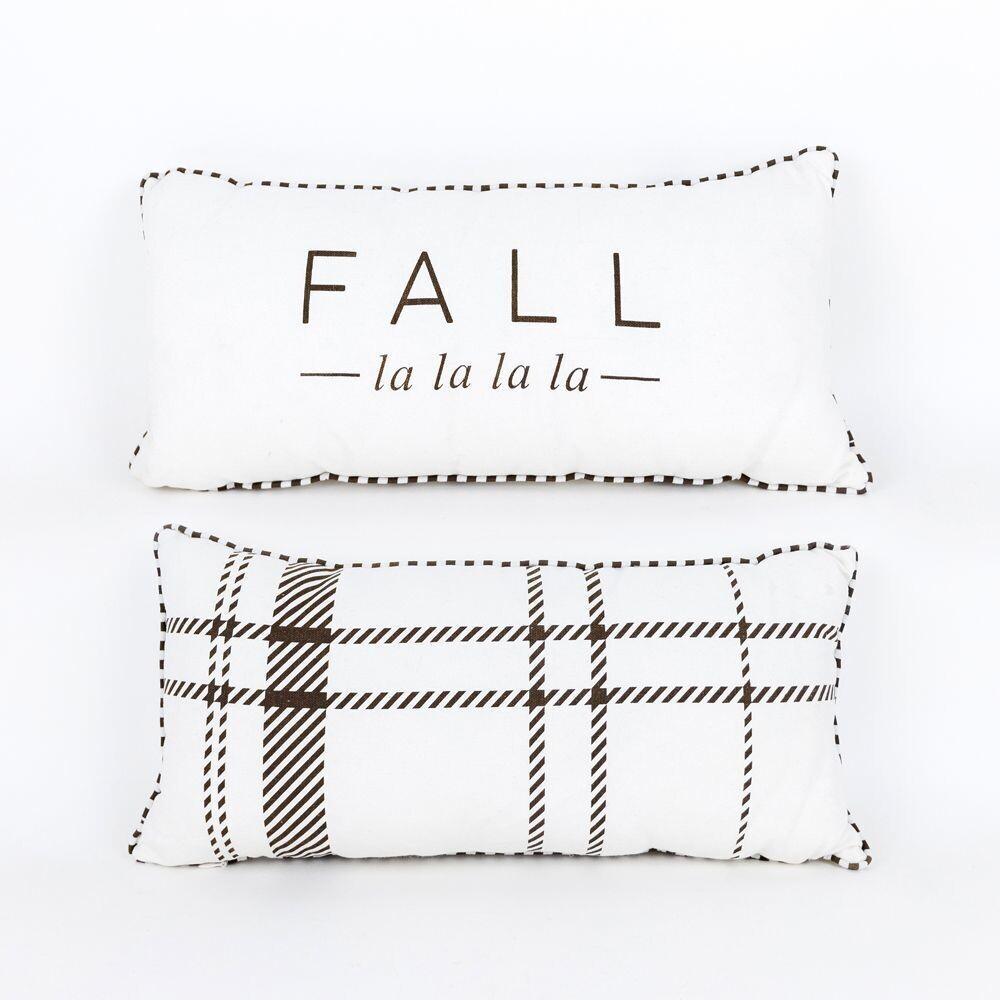 Reversible Fall La La Pillow