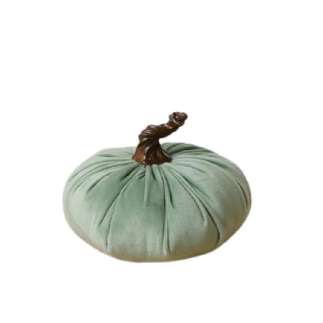 Green Velvet Pumpkin