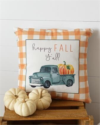 Happy Fall Y'all Two- Sided Pillow