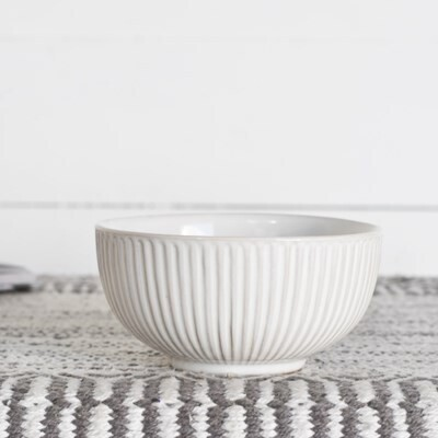 White Line Bowl