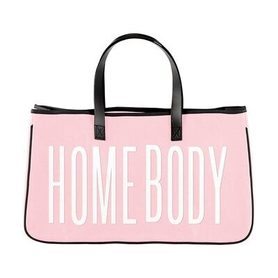 Homebody Canvas Tote
