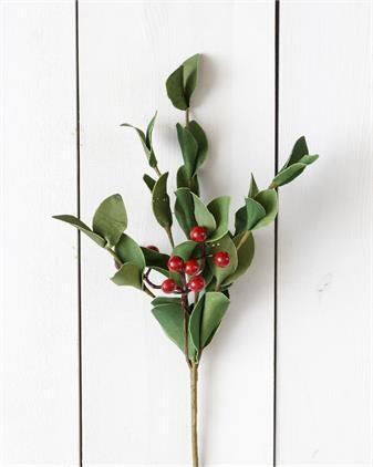 Green Sprigs W/ Berries Pick