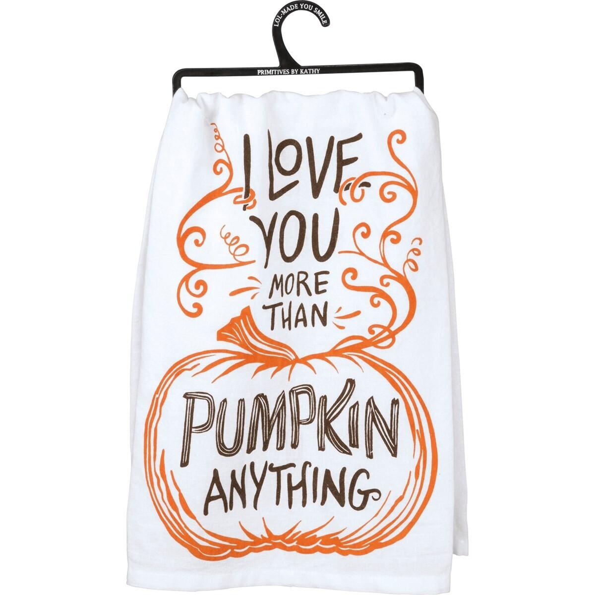 Pumpkin Anything Towel