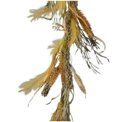 Fall Grass & Wheat Garland