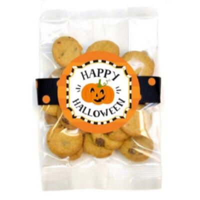 Happy Halloween Mini Choc Cookie