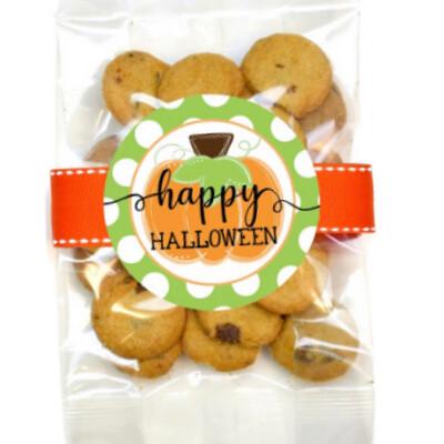Happy Halloween Pumpkin Cookie