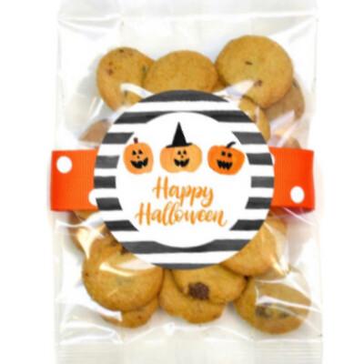 Witch Pumpkin Happy Halloween Cookie Bag