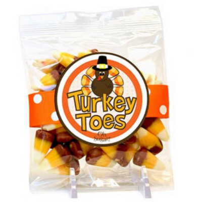 Turkey Toes Candy Corn Bag