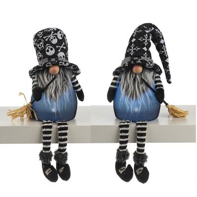 Lg Light Up Spooky Gnome