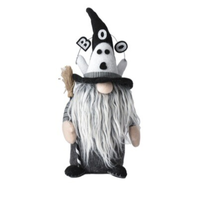 Boo Ghost Standing Gnome