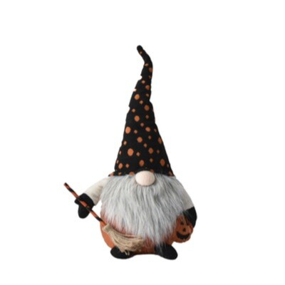 Orange Dot Hat Gnome