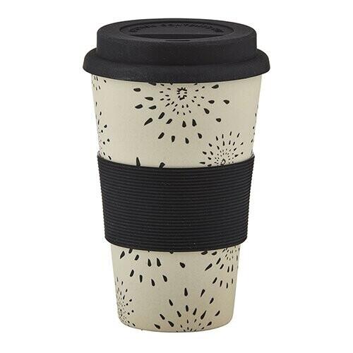 Sunburst Bamboo Fiber Cup
