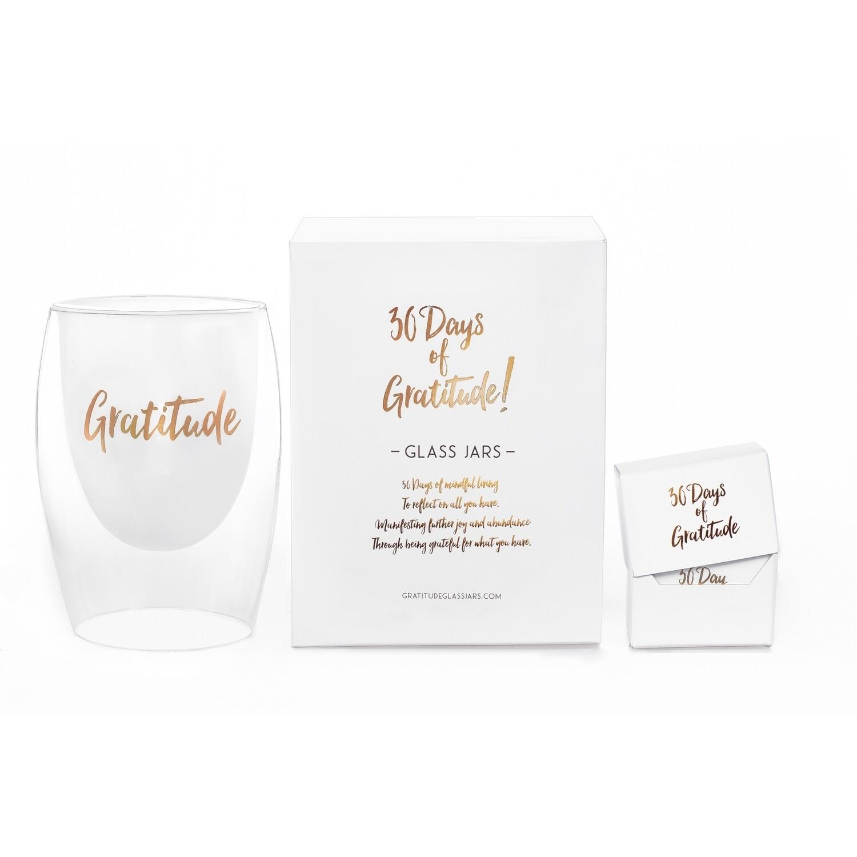 30 Days Of Gratitude Glass Jar