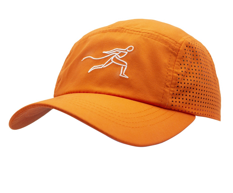 Race Arabia Sports Cap - Bright Mango Orange