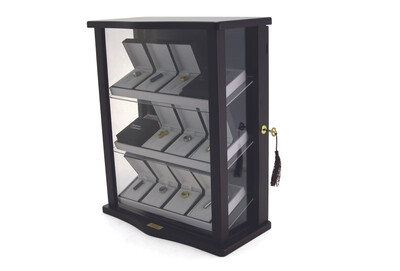 Jewelry Display Case (includes lock w/ key)