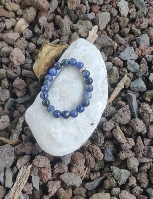 Bracelet sodalite ou Bracelet howlite