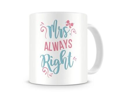 Caneca - Mrs. Always Right