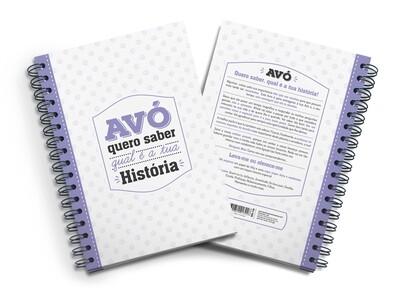 Livro Amoroso - Avó Quero Saber qual a tua História (ela vai adorar contar)