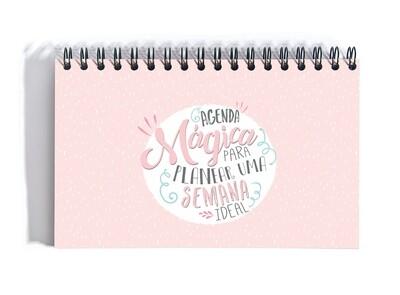Organizador - Agenda Mágica para Planear uma Semana Ideal