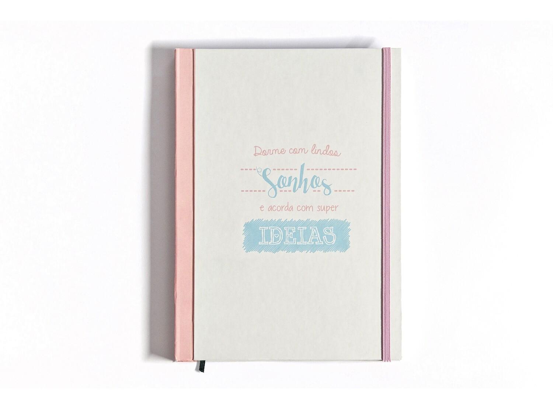 Caderno - Dorme com lindos sonhos, acorda com lindas ideias