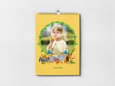 Animal Theme Calendar (Customizable)