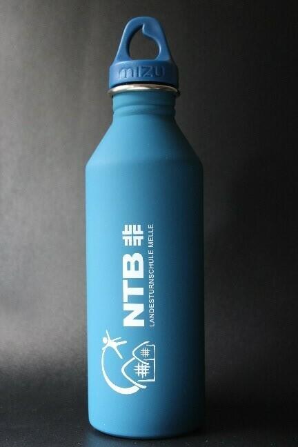 Trinkflasche von der Landesturnschule Melle