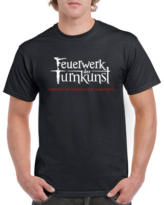 Feuerwerk der Turnkunst Fan T-Shirt (Unisex)