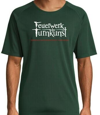 Feuerwerk der Turnkunst Funktions-Shirt Unisex
