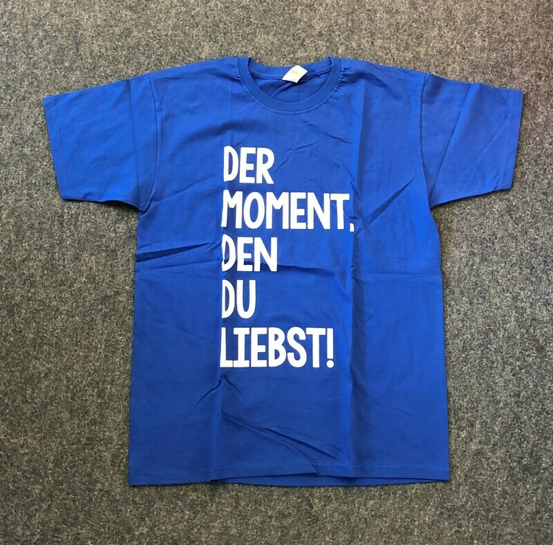 Erlebnis Turnfest T-Shirt royal blue