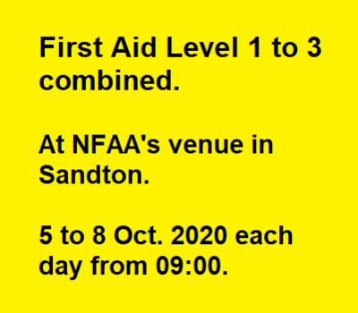 First Aid Level 1 to 3 Combined